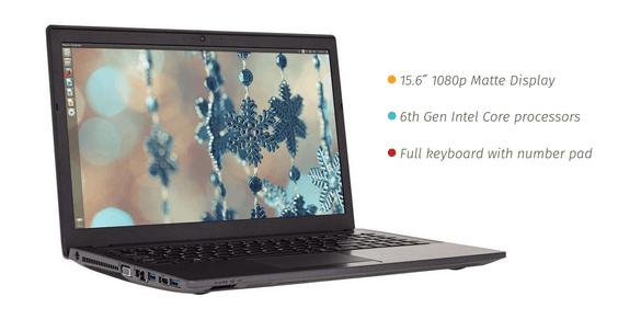 Mirada lle Laptop para Linux