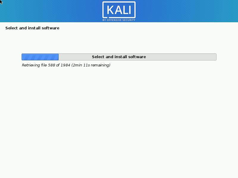 Instalación de software en Kali Linux