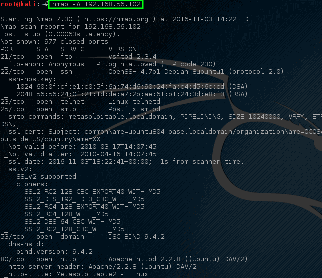 Nmap - Complete Network Scan on Host