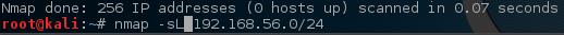 Nmap - Scan Network for Live Hosts