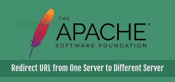 Redirect URL One Server to Different Server in Apache