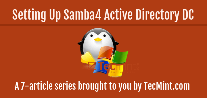 Setting Up Samba4 Active Directory in Ubuntu