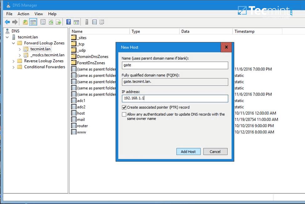 Configure Samba Host on Windows