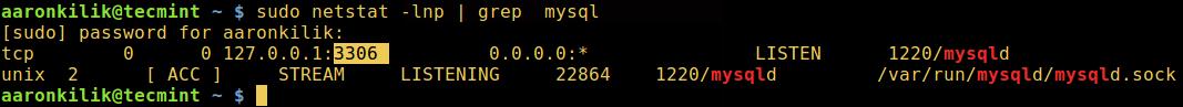 Find MySQL Port Number