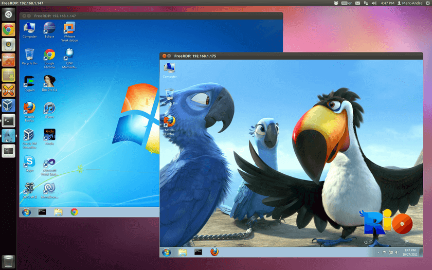 FreeRDP - Remote Desktop Protocol (RDP)
