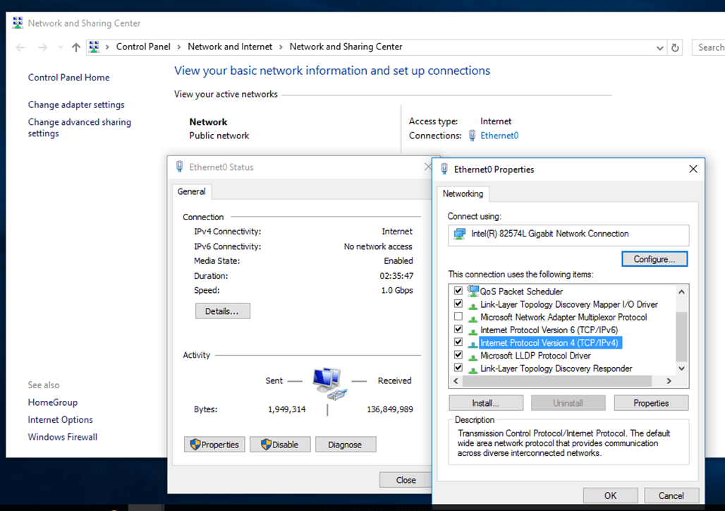 Manage Samba4 Active Directory Infrastructure from Windows10 via
