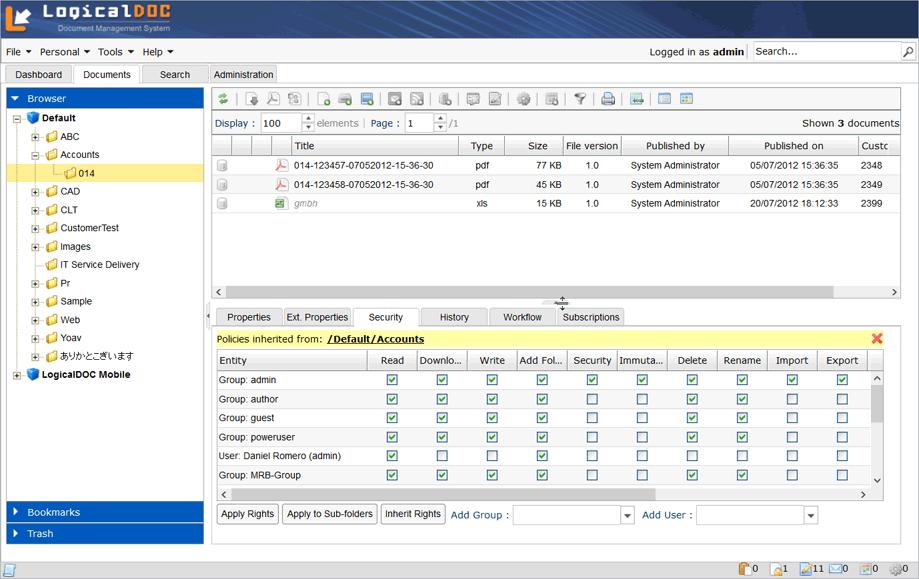 LogicalDoc Document Management System