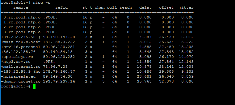 Monitor NTP Server Pool