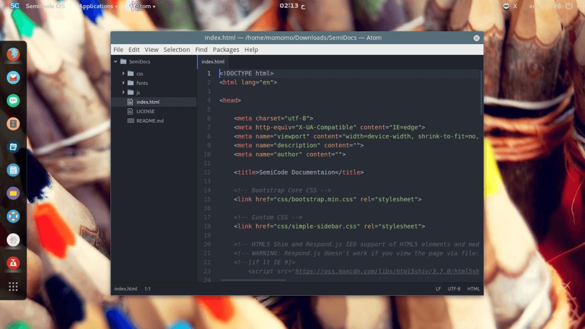 Semicode Linux Distro
