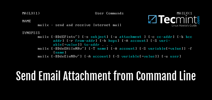 Send Email Attachment from Linux Command Line