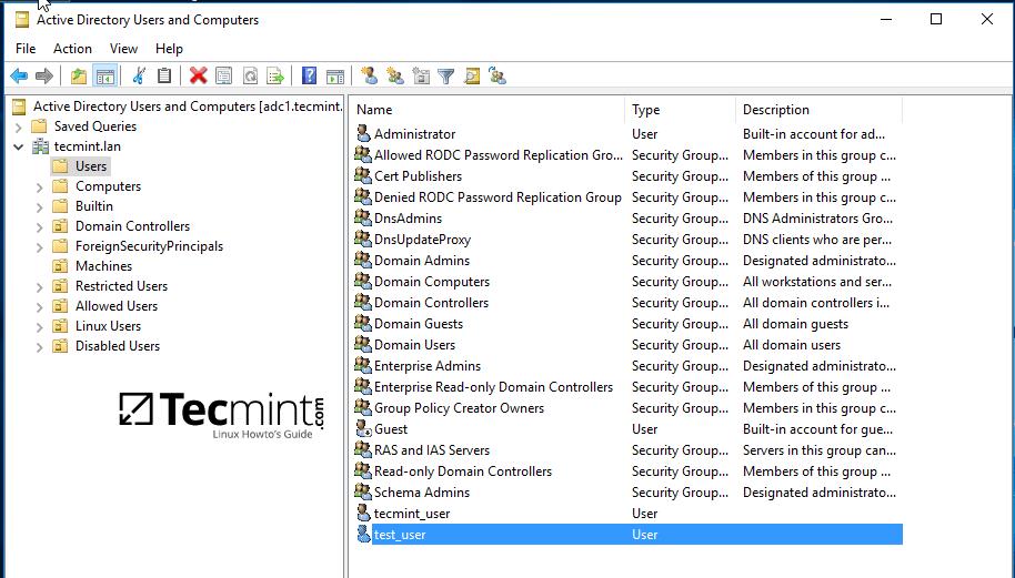 Create Account from Microsoft AD UC