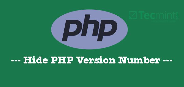 Hide PHP Version Number