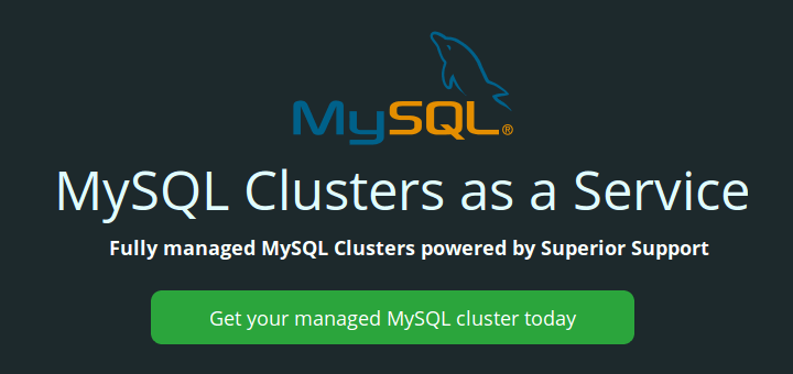 MySQL Clusters as a Service