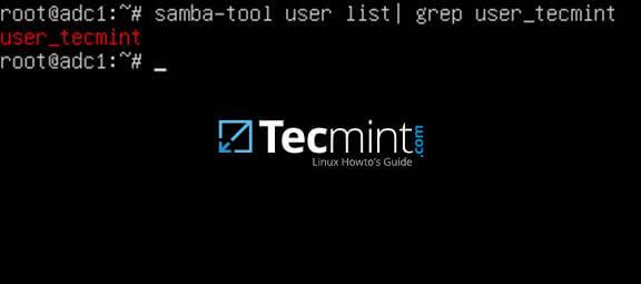 Verify Replication on Samba4 AD