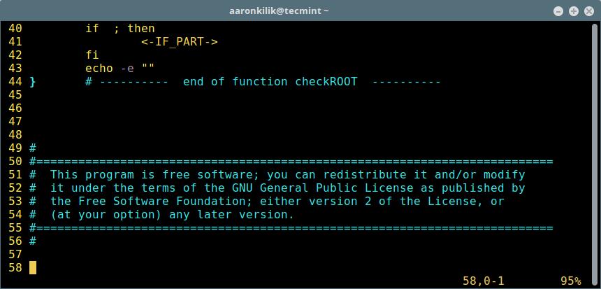 Add Code Snippet to Script