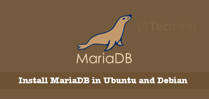 Install MariaDB in Ubuntu and Debian