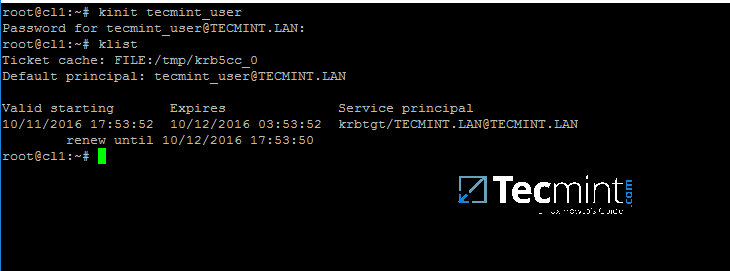 Check Kerberos Authentication with AD