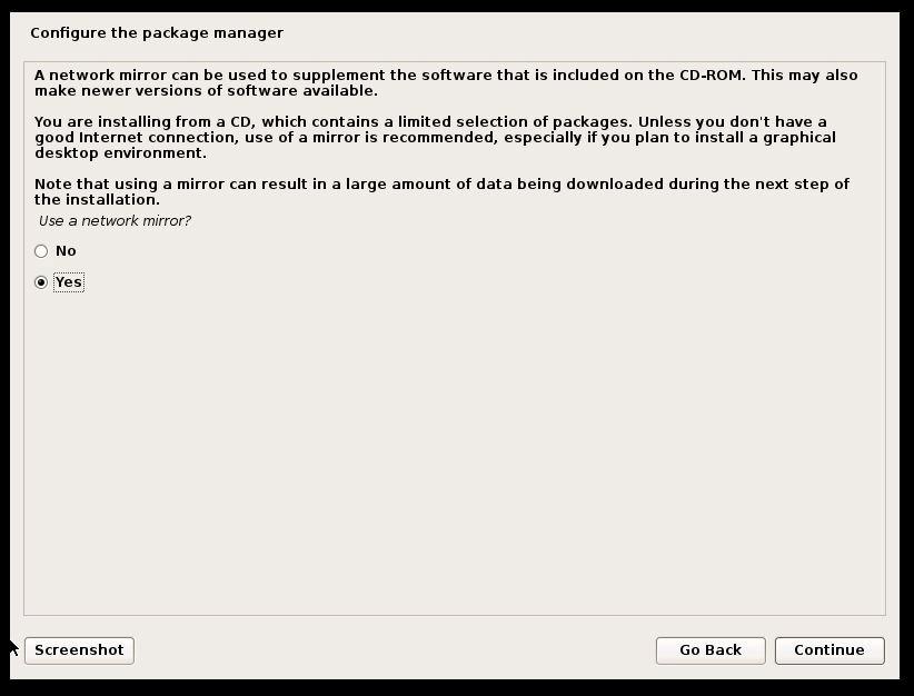 Devuan Linux Configure Package Manager