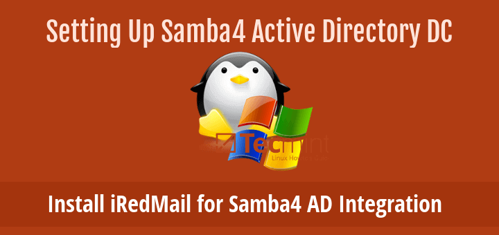Install iRedMail for Samba4 AD Integration