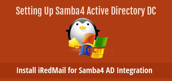 Install iRedMail for Samba4 AD Integration