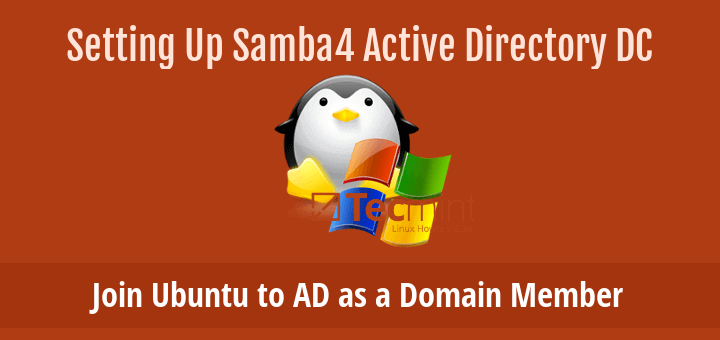 Join Ubuntu to Active Directory Domain Controller