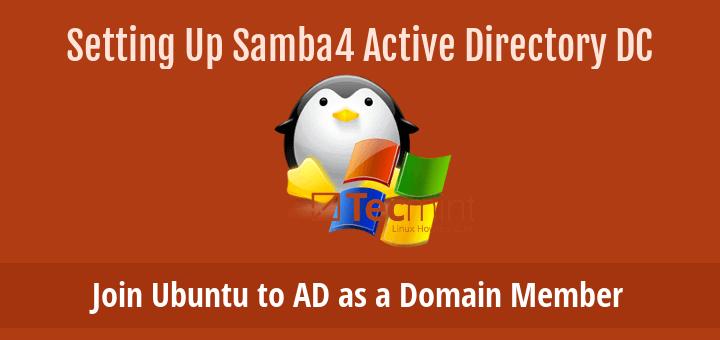 Join Ubuntu to Active Directory Domain Controller