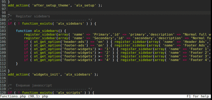 Micro - Linux Text Editor with Syntax Highlighting
