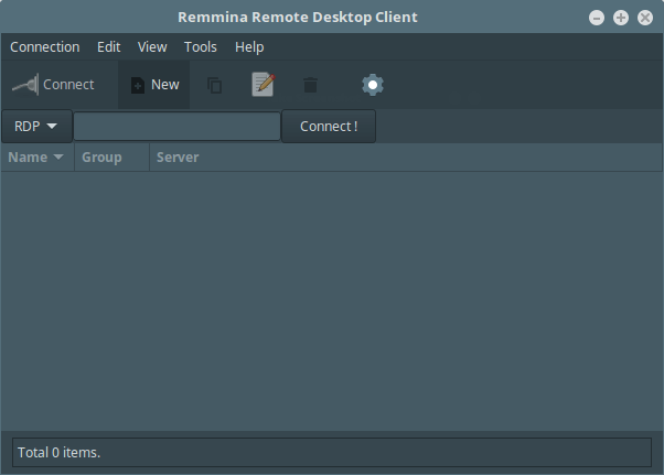 Remmina - A Feature Rich Remote Desktop Sharing Tool for Linux