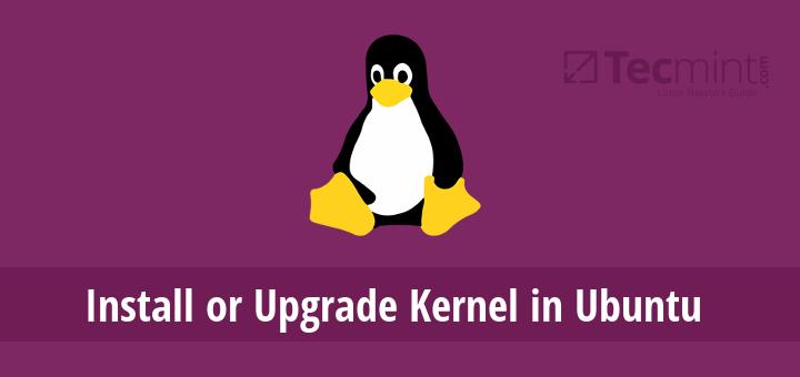 Upgrade Kernel in Ubuntu