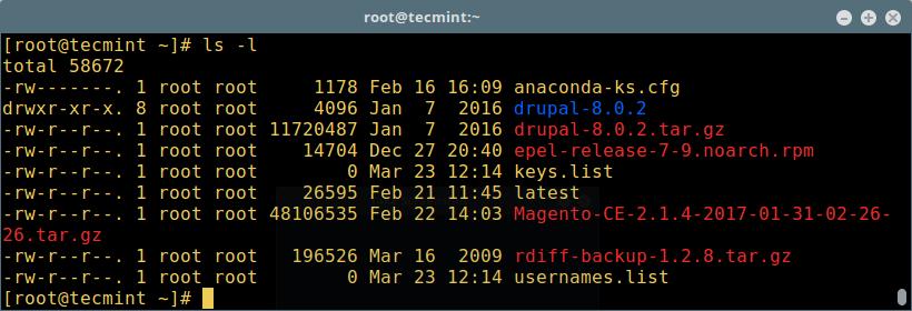 Verify Backup Directory