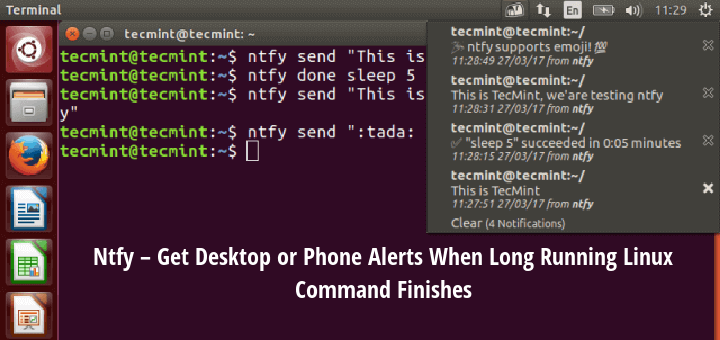 Get Linux Command Desktop Notifications
