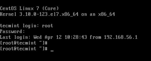 Linux Interactive Login Shell