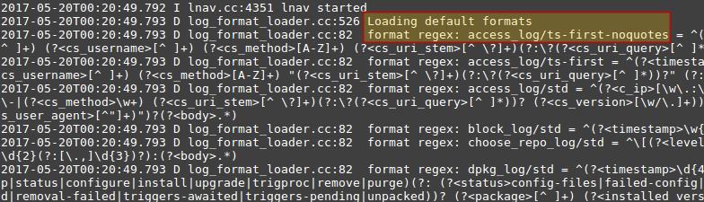 Apache Debug Information