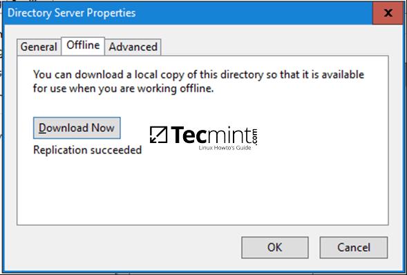 Download LDAP Database for Offline
