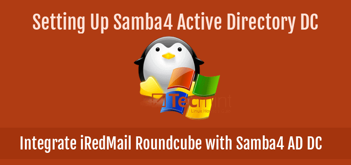 Integrate iRedMail Roundcube with Samba4 AD DC