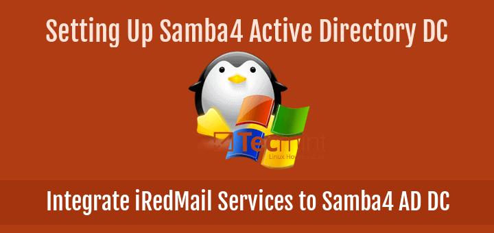 Integrate iRedMail to Samba4 AD DC