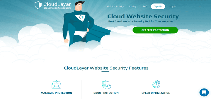 CloudLayar Website Security