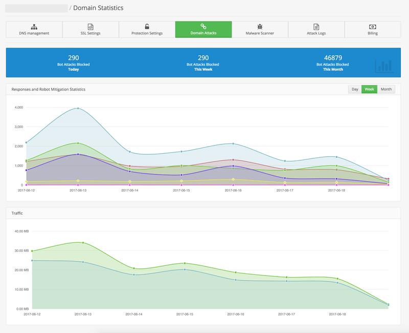 Domain Attack Statistics
