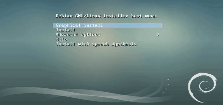 Installation of Debian 9 Minimal Server