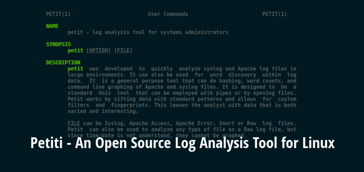 Petit Linux Log Analysis Tool