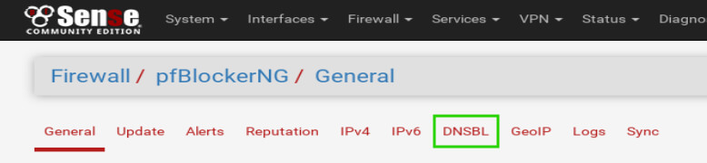 Install and Configure pfBlockerNg for DNS Black Listing in pfSense