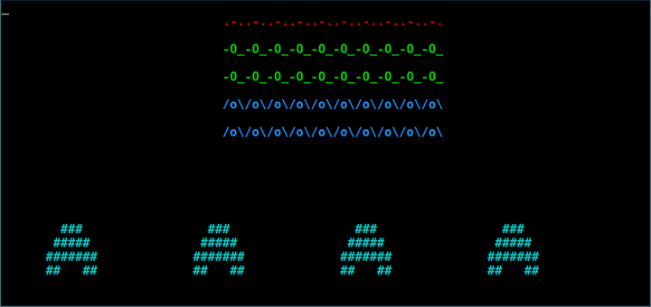 Space Invaders Linux Terminal Game