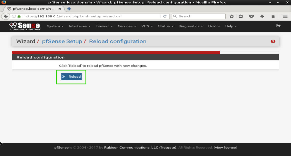 Installation and Configuration of pfSense 2 4 4 Firewall Router