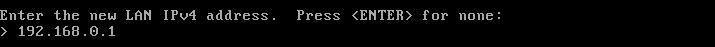 pfSense IP Address