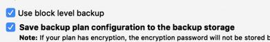 CloudBerry Enable Block-Level Backup