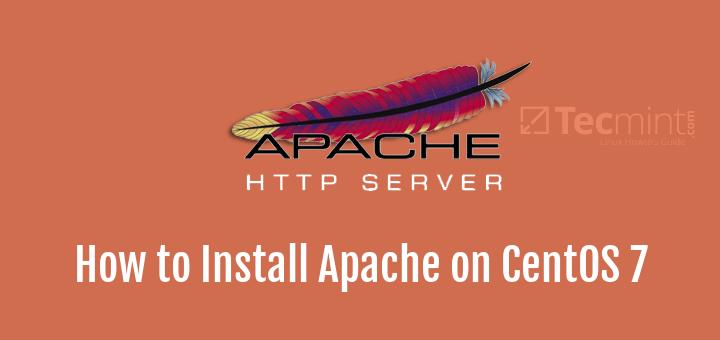 Install Apache on CentOS 7