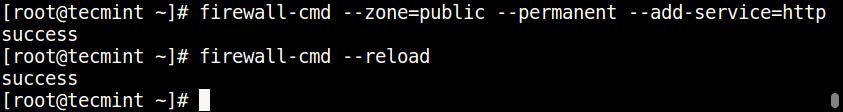 Open Nginx Port on Firewall