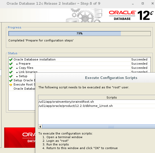 Oracle 12c Configuration Scripts