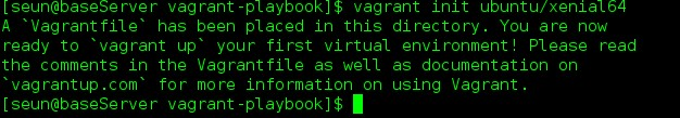 Vagrant File